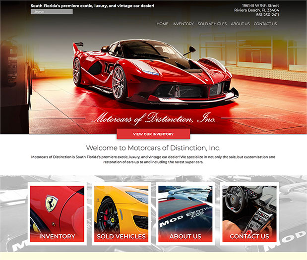 Motorcars of Distinction, Inc.