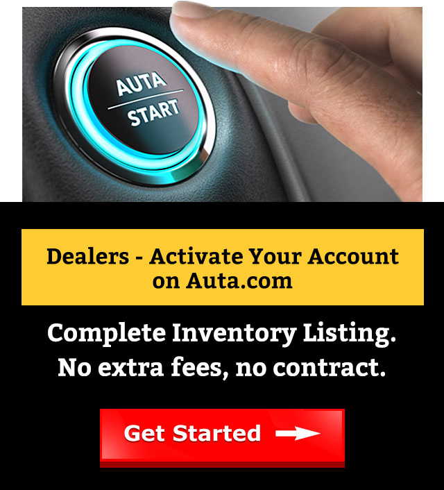 Dealers - Activate your account on Auta.com