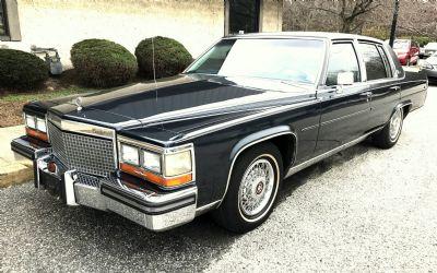 1990 Cadillac Brougham 5 7